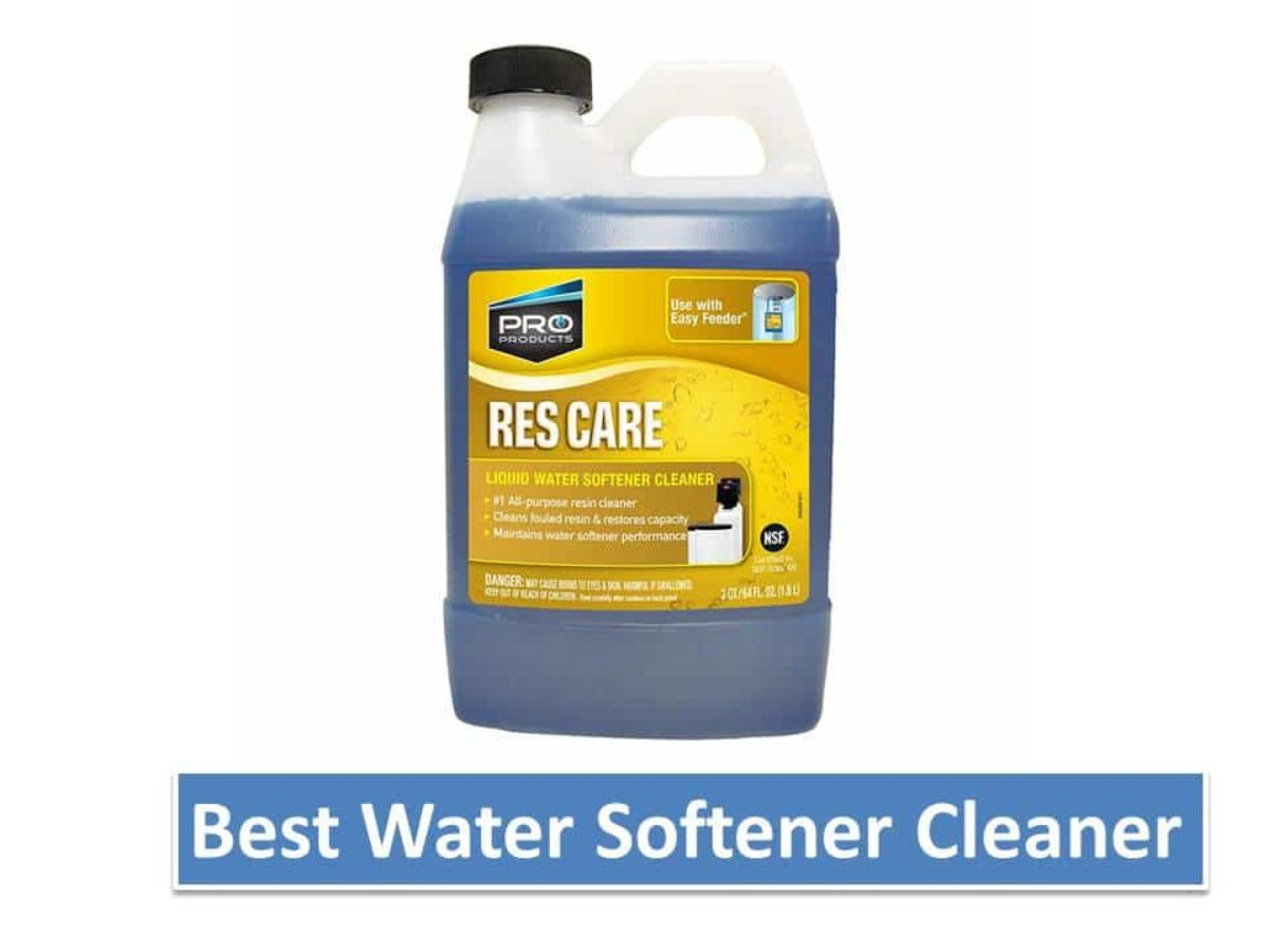 10 Best Water Softener Cleaner Review