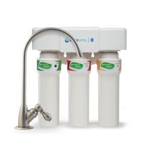 Under Sink Water Filter with Bluetooth Tracking
