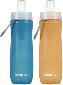Brita 20 Ounce Sport Water Bottle with 2 Filters