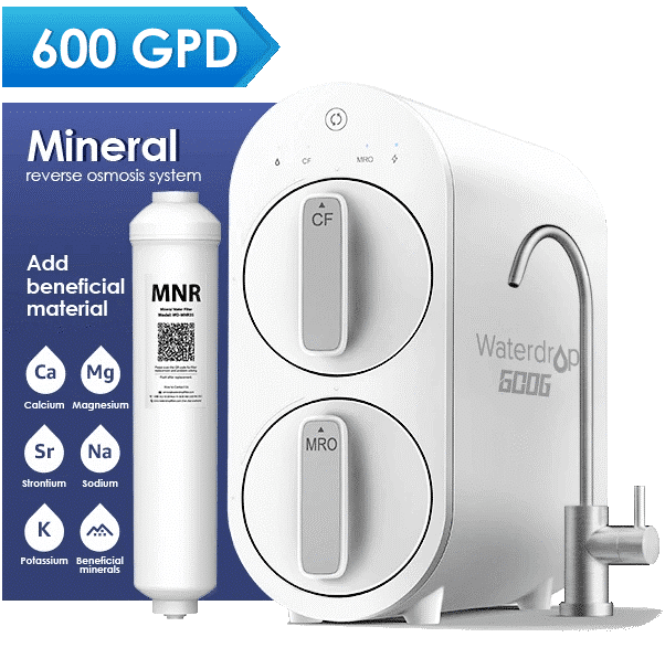 Waterdrop G2P600 Remineralization Reverse Osmosis Filtration System