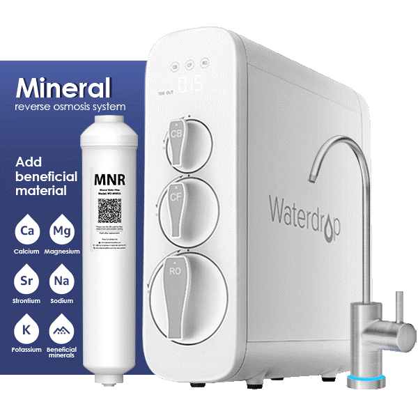Waterdrop G3 Remineralization Reverse Osmosis Water Filter System